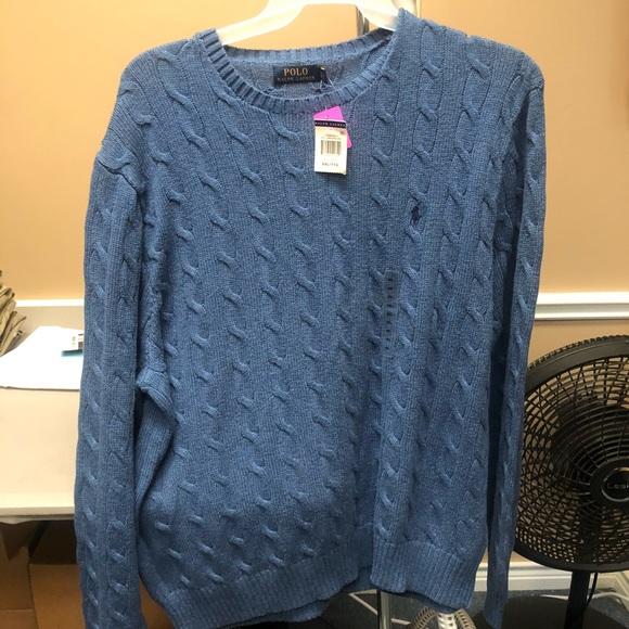 18be3aa0d98de9 Polo by Ralph Lauren Sweaters | Polo Ralph Lauren Mens Cable Knit ...